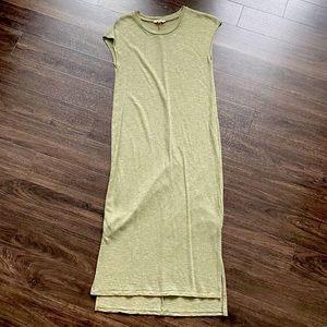 Madewell sleeveless maxi dress size XS